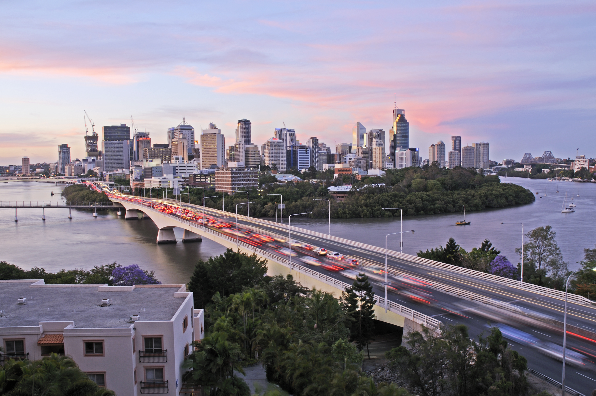 Brisbane City congestion